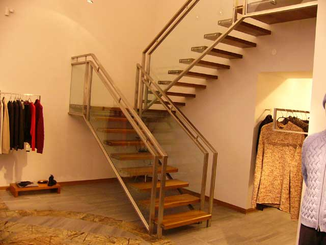 Декоративные лестницы фото